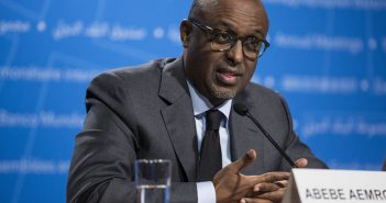 The head of the IMF's African Department, Abebe Aemro Selassie, at the 2017 Annual Meetings. Photo: IMF