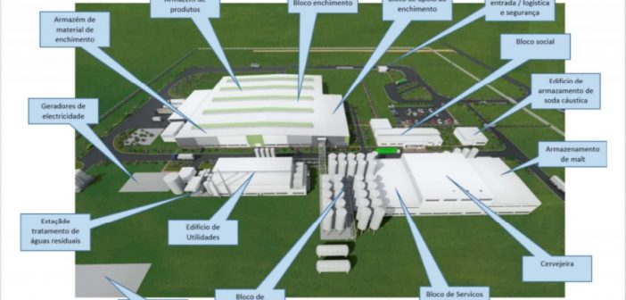 An image of Heineken's planned brewery in Maputo province, Mozambique. Source: Heineken Breweries EIA