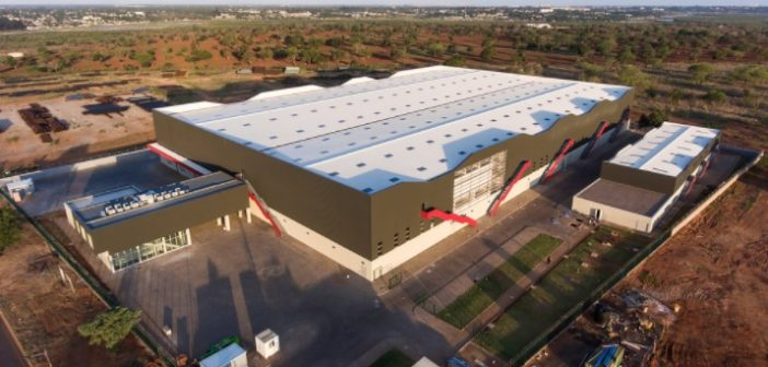 The new facility in Beluluane Industrial Park.