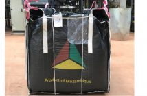 Syrah Resources' first bag of Mozambican graphite