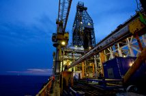 Operations on offshore Area 1, Mozambique. Photo: Anadarko