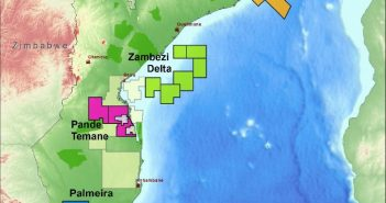 Blocks in Central Mozambique in INP's 5th round. Image: INP