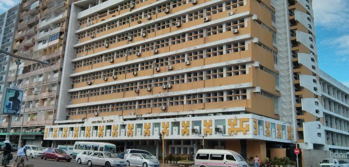The Ministry of Health building in Maputo