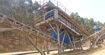 Omnia's alluvial gold processing operation. Photo: Xtract Resources