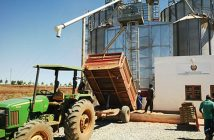 A BMM grain silo in Mozambique.