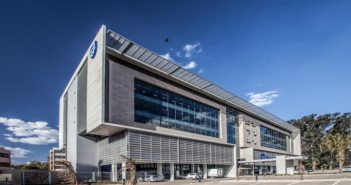 Standard Bank's Maputo HQ. Photo: Key Projects