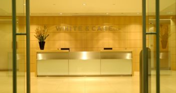 The London office of law firm White & Case.