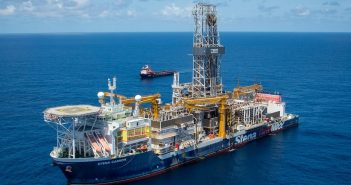Exxon exploring offshore Guyana. Photo: Facebook