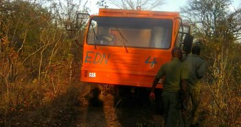 EDN truck. Photo: Fungai Caetano