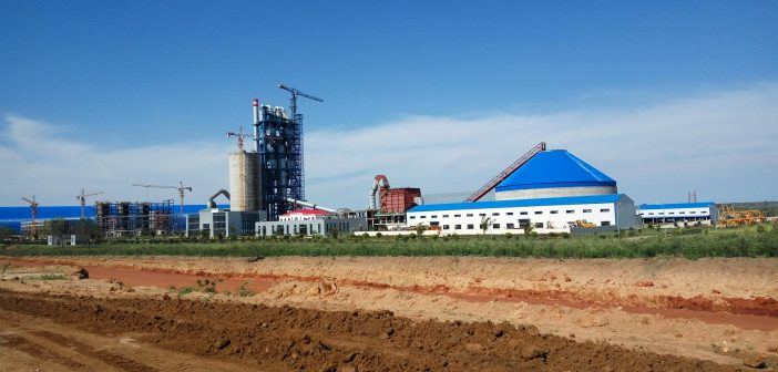 The CIF-Moz cement plant project at Salamanga, Maputo province. Photo © Tom Bowker / Zitamar News