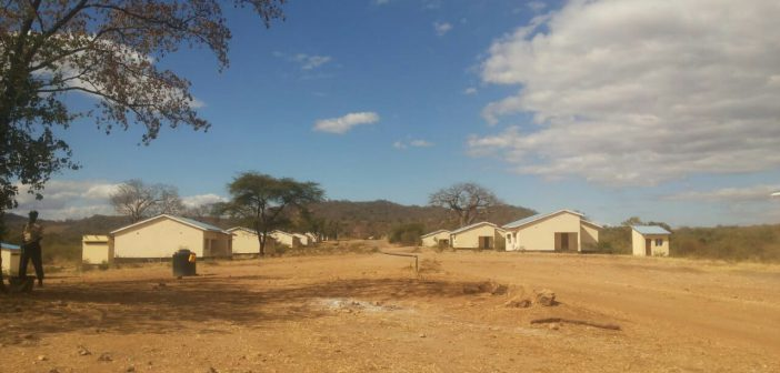 The Cassoca resettlement village, built for communities at Jindal's mine in Tete. Photo © Fungai Caetano / Zitamar News