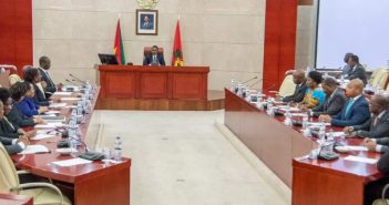 The Council of Ministers in session