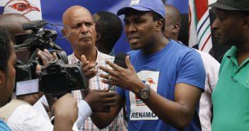 Renamo's Venancio Mondlane on the campaign in Maputo