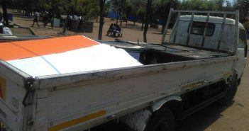 The spare electoral material allegedly to be used in electoral fraud in Moatize, October 2018. Photo © Fungai Caetano / Zitamar News