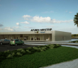 An artist's impression of the planned Afungi airstrip