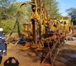 Work at Battery Minerals' graphite project in Cabo Delgado. Photo: Battery Minerals