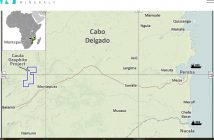 New Energy Minerals' Caula graphite and vanadium project is located in Cabo Delgado. Image: NEM