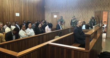 Manuel Chang in court in Johannesburg on 8 January 2018. Photo © Zitamar News