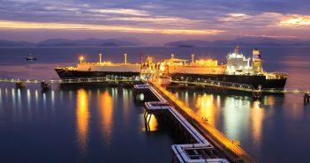 The Guangdong LNG Terminal in China, where CNOOC is the biggest shareholder.