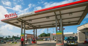 A Total petrol station in Mozambique. © Total / Steven Le Vourc'h