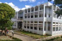 The Cabo Delgado provincial courthouse in Pemba