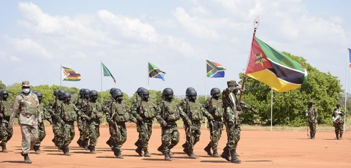 SADC force claims it has brought stability to Mueda, Macomia and Nangade
